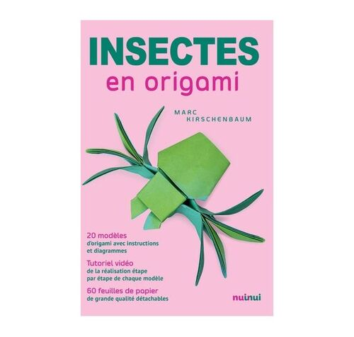 Insectes en origami Nuinui (Editions)