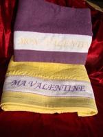 Serviettes St Valentin