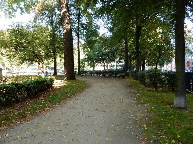 Parc du quartier européen