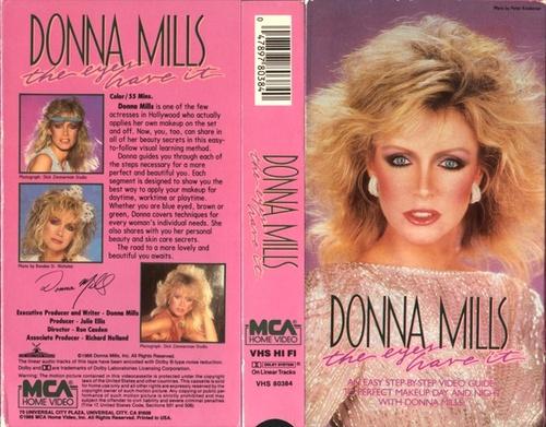 Fête pour la sortie de la vidéo de Donna Mills.