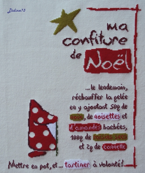 """Sal """"Ma confiture de Noël"""" - étape 4"""