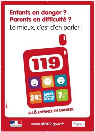 119, allô enfance en danger