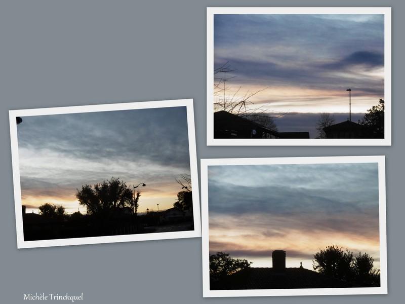 Le ciel au matin du 26 novembre....