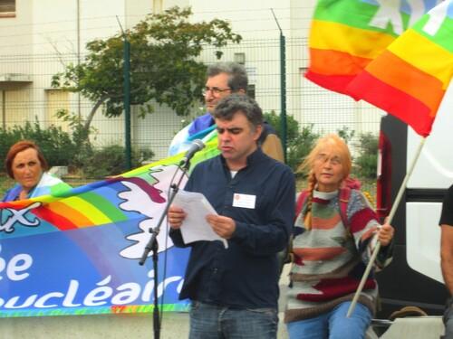 Discours de la Libre Pensée prononcé lors du rassemblement pacifiste organisée par le Mouvement de la Paix (région PACA) à Istres (13) devant la base aérienne des vecteurs nucléaires.
