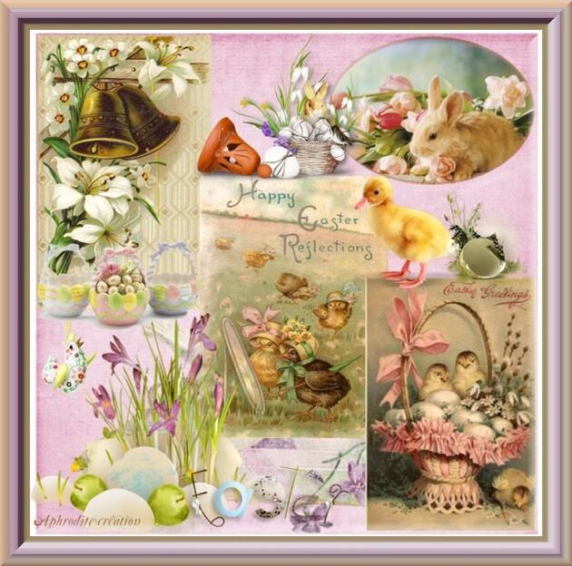 Mes créations perso : fêtes de Pâques (suite)
