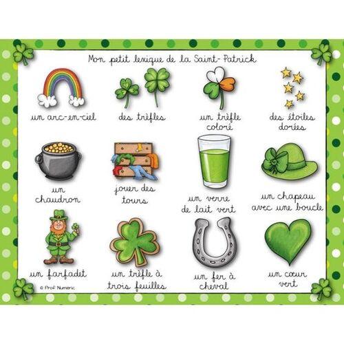 17 mars : Saint Patrick