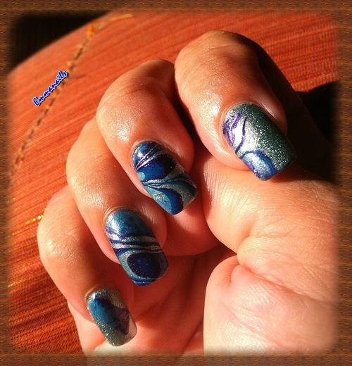 Water marble de recyclage  - WM 2
