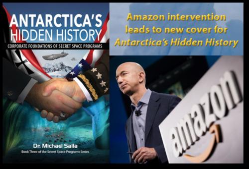 ⇒L'intervention d'Amazon mène à une nouvelle couverture pour l'histoire cachée de l'Antarctique.