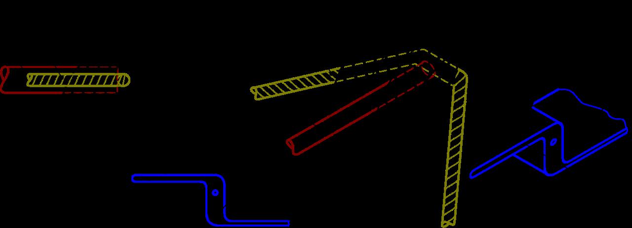 Noix d'arbalète 1.Noix 2.Corde 3.Carreau 4.Gâchette