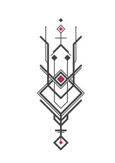 Reproduction géométrique + symétrie