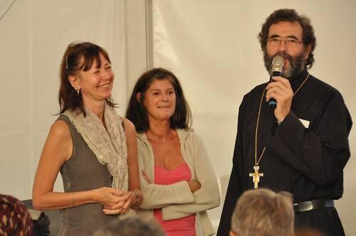 Présentation de la Trilogie, fête de la création St Dolay en Bretagne, octobre 2013
