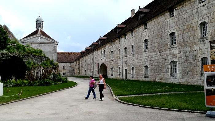 Retour à Besançon