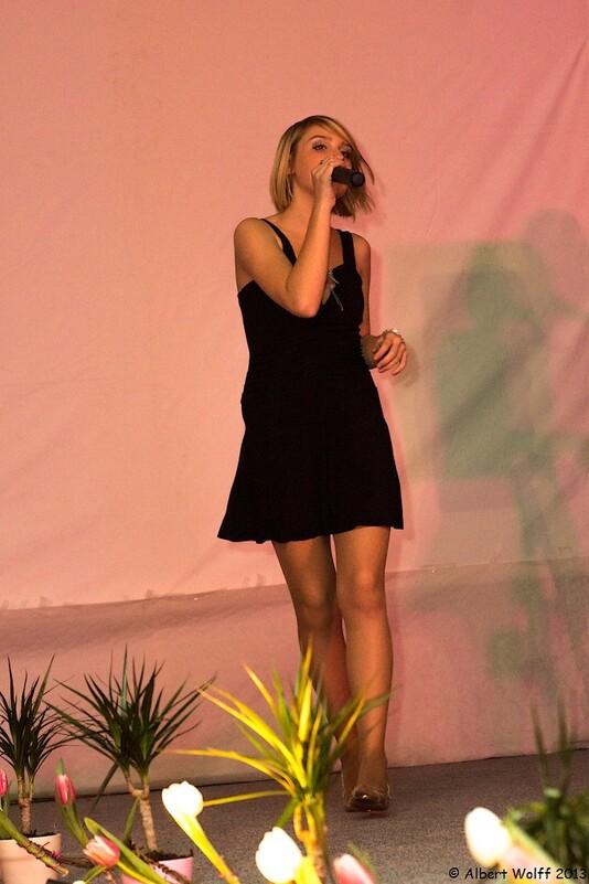 Portrait d'une chanteuse