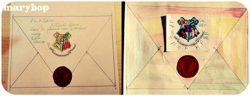 Géométrie : la lettre de Poudlard