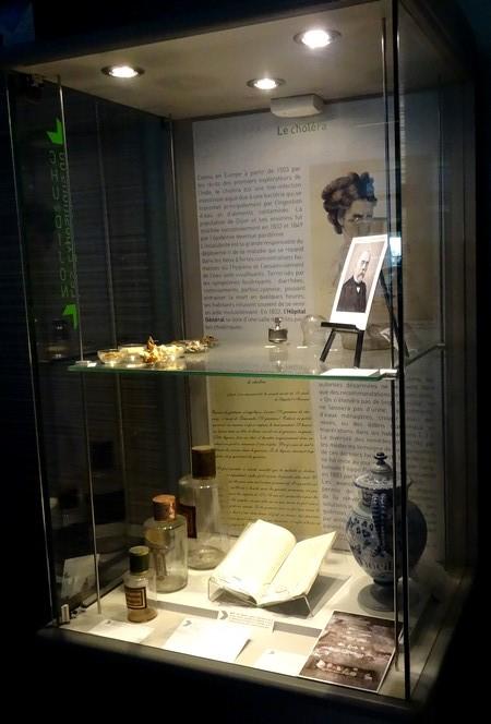 Une exposition au CHU du Bocage à Dijon....