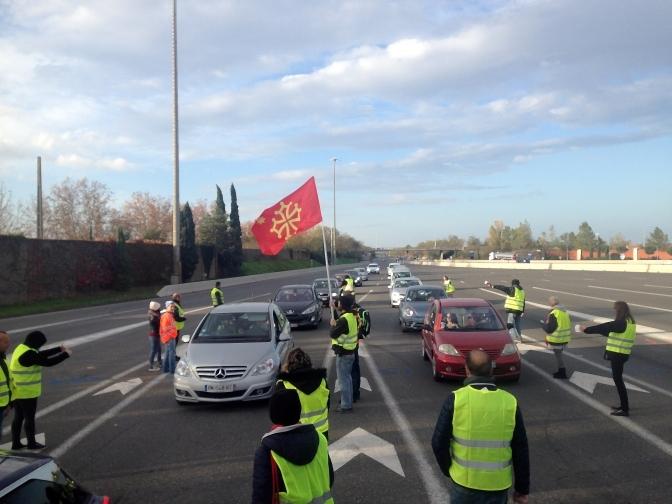 Les anges, les gilets jaunes et le chemin de la révolution en Occitània.