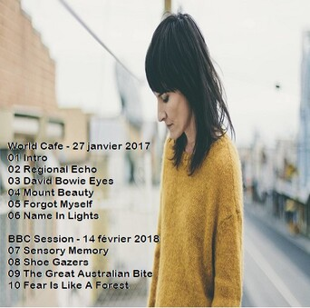 Live(s): Jen Cloher - World Cafe Melbourne - 26 Janvier 2017 + BBC Session - 26 Septembre 2017