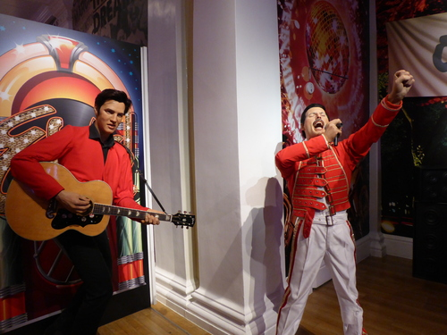 Angleterre,  Londres, Madame Tussauds (3)