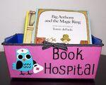 Un hôpital pour les livres