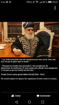 """Les """"Sages d'Israël""""... """"pas sages"""" et """"pas d'Israël"""" !"""