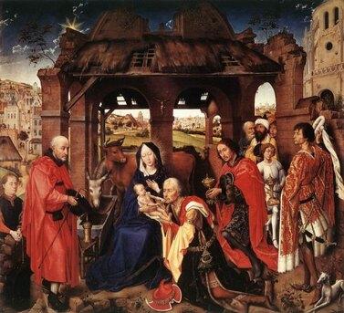 Adoration des Mages, par Rogier van der Weyden