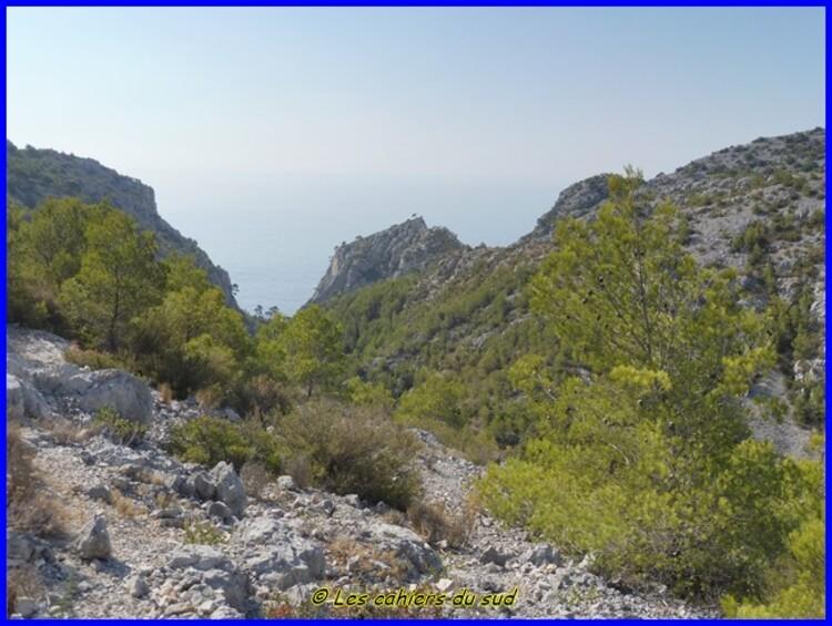 Calanques, les falaises du Devenson