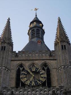 horloge du beffroi d'Ypres
