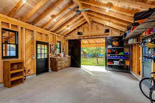 How to insulate garage ceiling with room above