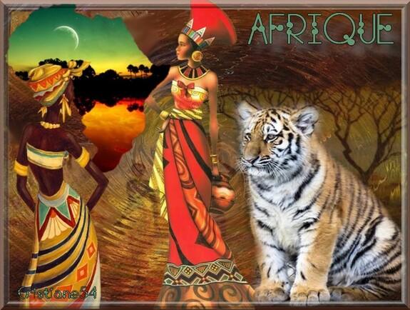 Défi Afrique pour mon amie Nathie ,