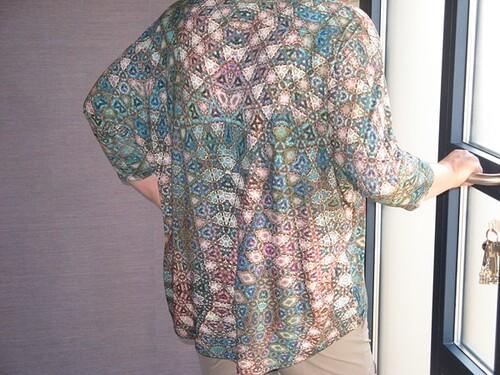 Tee-shirt mosaïque