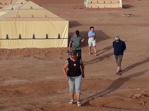 Nous partons....à l'assaut des dunes