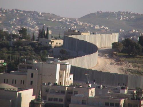 Palestine, Jerusalem, le mur..de la honte, 2004