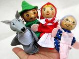 """Résultat de recherche d'images pour """"marionnettes à doigts petit chaperon rouge"""""""
