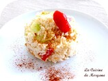 Salade de riz tandoori au poulet