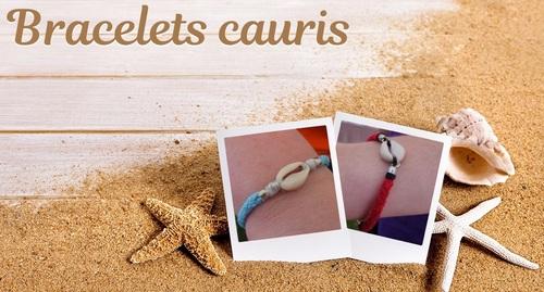 La nature en fête à la Croix-en Touraine le 6 juin 2021 - bracelet cauris