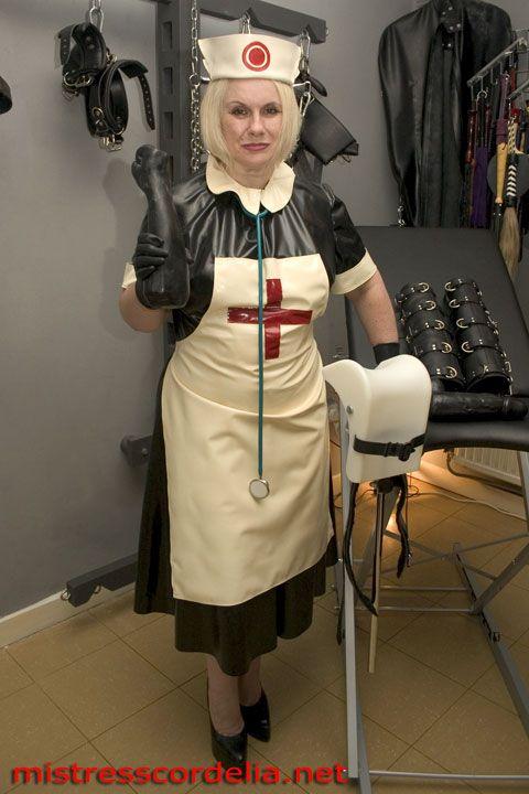 Nurse en latex
