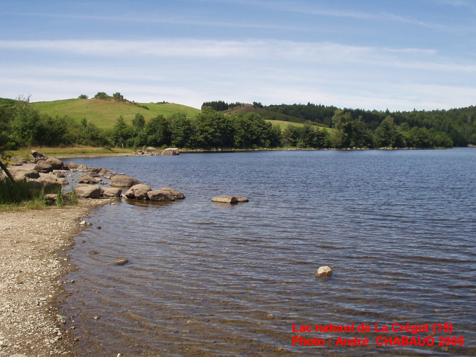 Lac naturel de La Crégut (Cantal) 06