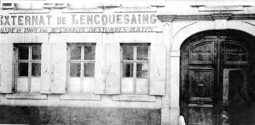 L' internat du pensionnat Saint-Pierre en 1910