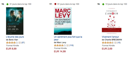 Vivement l'amour 10e jour Top Ventes Amazon