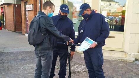 À Saint-Quentin, les usagers de trottinette sensibilisés sur la législation  et les dangers encourus