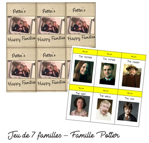 Weasley Family and Potter Family