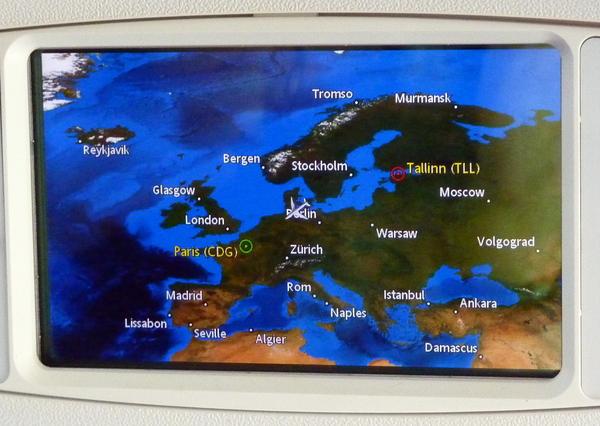 Les pays Baltes : Estonie : Jour 7 - matinée libre à Tallinn et retour sur Paris