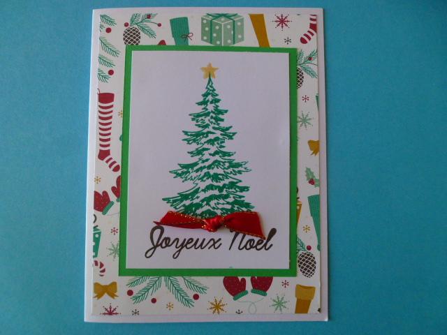 1ère série de cartes de Noël