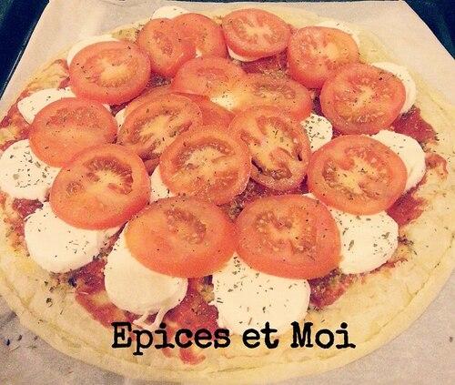 Tarte Tomates et mozzarella