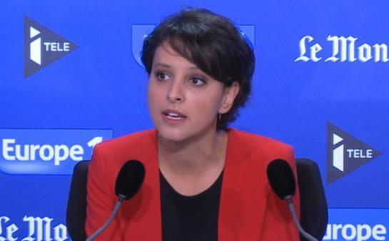Paris, dimanche. La ministre de l'Education nationale «regrette la tournure des débats» sur la réforme du collège.