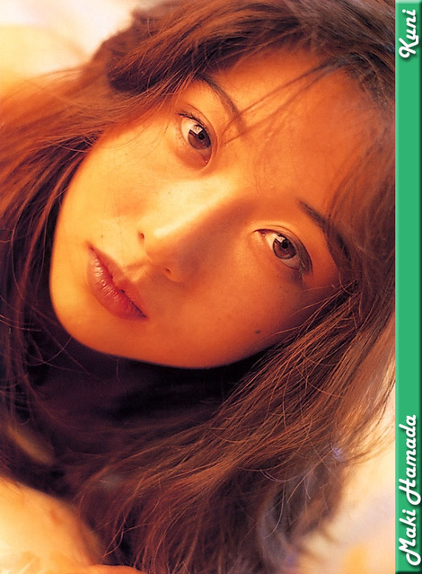 Model Collection : ( [KUNI Scan] - |vol.1| Maki Hamada/浜田まき )