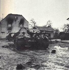* Etape n° 35 - 8 et 9 janvier 1945 - Osthouse et le bois de  Pfifferwald : ultimes tentatives du BM XI pour rompre l'encerclement du BM 24