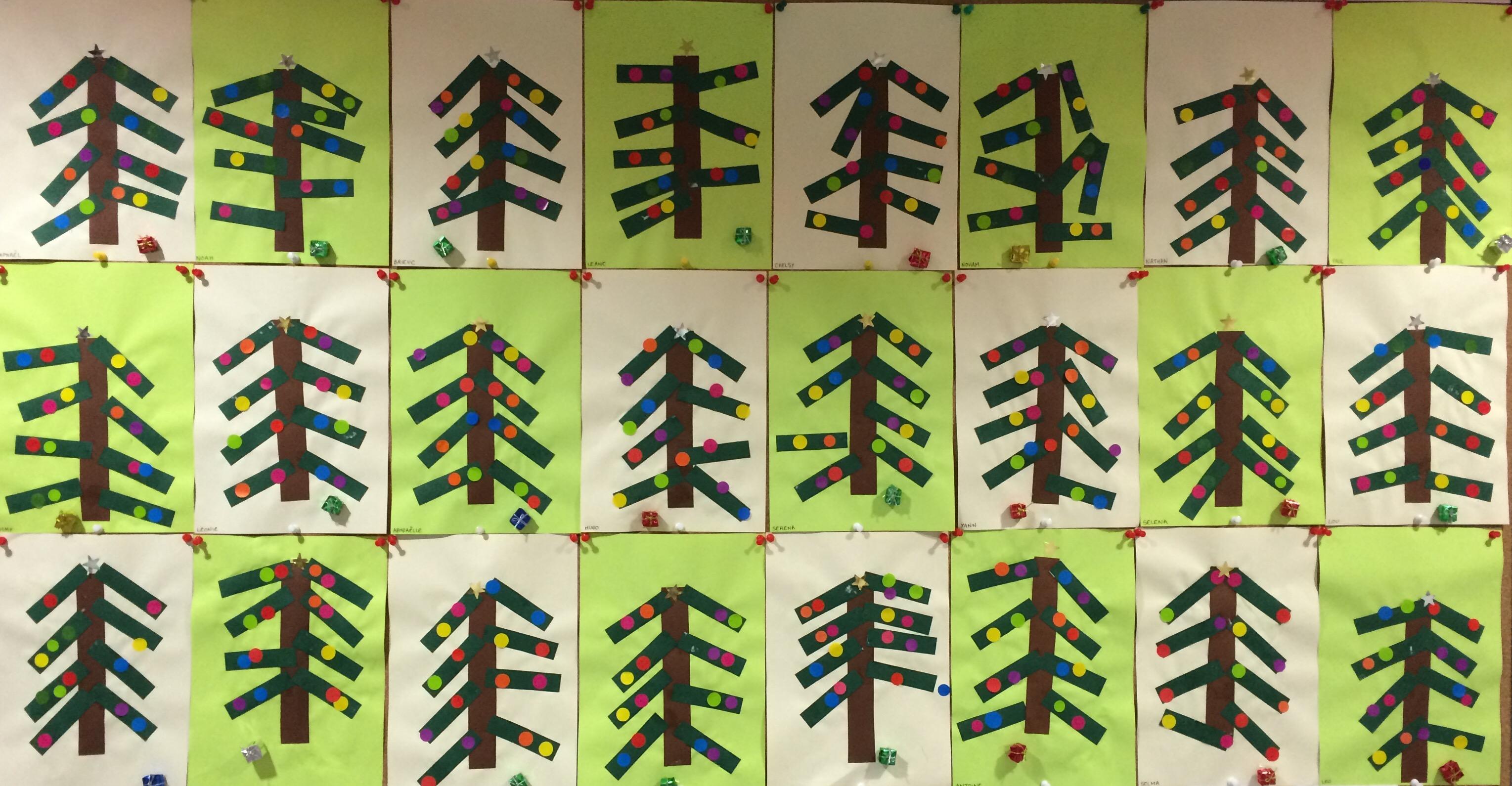 #839B30 Pour Le Plaisir Des Yeux Ecole Primaire Caroline  6075 décoration de noel tps/ps 3058x1590 px @ aertt.com