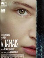 À Jamais ; Laura et Rey vivent dans une maison au bord de la mer.  Il est cinéaste, elle crée des « performances » dont elle est l'actrice.  Rey meurt —accident, suicide ?—, la laissant seule dans cette maison.  Mais bientôt, seule, elle ne l'est plus.  Quelqu'un est là, c'est Rey, par et pour elle, comme un rêve plus long que la nuit, pour qu'elle survive. ... ----- ... Origine : français  Réalisation : Benoît Jacquot  Durée : 1h 30min  Acteur(s) : Mathieu Amalric,Julia Roy,Jeanne Balibar  Genre : Drame  Date de sortie : 7 décembre 2016  Année de production : 2016  Distributeur : Alfama Films  Critiques Spectateurs : 2,0