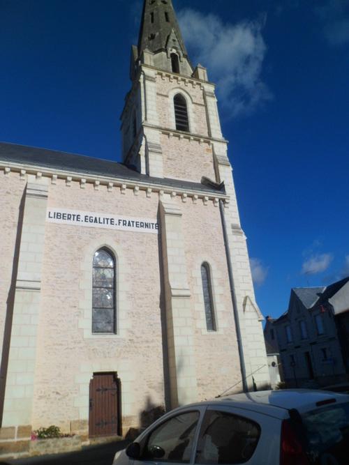 Commune de Sainte -Verge,près de Thouars au nord des Deux-Sèvres (79)